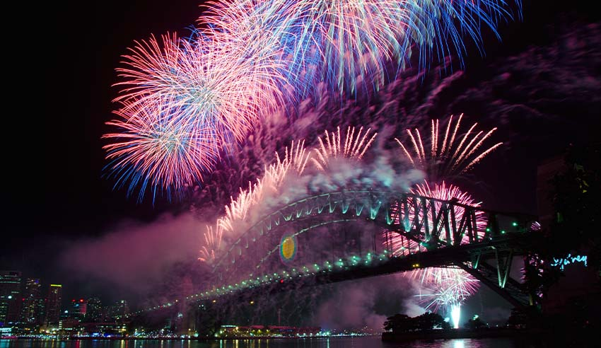 New Years Eve at Sydney